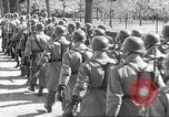 Image of German soldiers march and sing Germany, 1939, second 26 stock footage video 65675063161