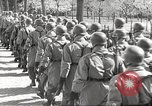 Image of German soldiers march and sing Germany, 1939, second 27 stock footage video 65675063161