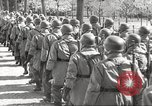 Image of German soldiers march and sing Germany, 1939, second 28 stock footage video 65675063161