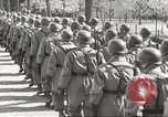 Image of German soldiers march and sing Germany, 1939, second 29 stock footage video 65675063161