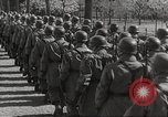 Image of German soldiers march and sing Germany, 1939, second 30 stock footage video 65675063161