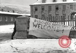Image of slave labor camps Flossenburg Germany, 1945, second 15 stock footage video 65675063162