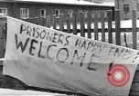 Image of slave labor camps Flossenburg Germany, 1945, second 22 stock footage video 65675063162