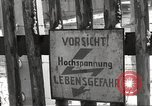 Image of slave labor camps Flossenburg Germany, 1945, second 32 stock footage video 65675063162