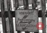 Image of slave labor camps Flossenburg Germany, 1945, second 33 stock footage video 65675063162
