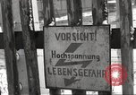 Image of slave labor camps Flossenburg Germany, 1945, second 34 stock footage video 65675063162