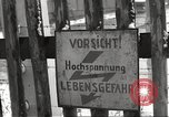 Image of slave labor camps Flossenburg Germany, 1945, second 38 stock footage video 65675063162