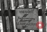 Image of slave labor camps Flossenburg Germany, 1945, second 39 stock footage video 65675063162