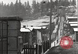 Image of slave labor camps Flossenburg Germany, 1945, second 54 stock footage video 65675063162
