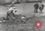 Image of Flossenbürg concentration camp atrocity victims Flossenburg Germany, 1945, second 7 stock footage video 65675063167