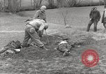 Image of Flossenbürg concentration camp atrocity victims Flossenburg Germany, 1945, second 9 stock footage video 65675063167