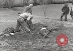 Image of Flossenbürg concentration camp atrocity victims Flossenburg Germany, 1945, second 10 stock footage video 65675063167