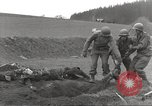 Image of Flossenbürg concentration camp atrocity victims Flossenburg Germany, 1945, second 13 stock footage video 65675063167