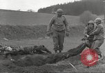 Image of Flossenbürg concentration camp atrocity victims Flossenburg Germany, 1945, second 15 stock footage video 65675063167