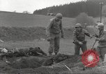 Image of Flossenbürg concentration camp atrocity victims Flossenburg Germany, 1945, second 16 stock footage video 65675063167