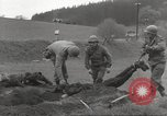 Image of Flossenbürg concentration camp atrocity victims Flossenburg Germany, 1945, second 17 stock footage video 65675063167