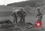 Image of Flossenbürg concentration camp atrocity victims Flossenburg Germany, 1945, second 18 stock footage video 65675063167