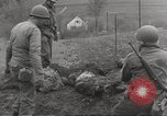 Image of Flossenbürg concentration camp atrocity victims Flossenburg Germany, 1945, second 30 stock footage video 65675063167