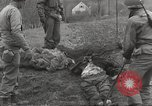 Image of Flossenbürg concentration camp atrocity victims Flossenburg Germany, 1945, second 32 stock footage video 65675063167
