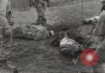 Image of Flossenbürg concentration camp atrocity victims Flossenburg Germany, 1945, second 33 stock footage video 65675063167