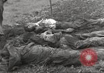 Image of Flossenbürg concentration camp atrocity victims Flossenburg Germany, 1945, second 41 stock footage video 65675063167
