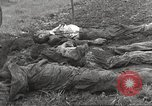 Image of Flossenbürg concentration camp atrocity victims Flossenburg Germany, 1945, second 42 stock footage video 65675063167