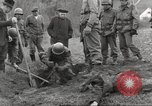 Image of victims of Flossenbürg Concentration Camp Flossenburg Germany, 1945, second 7 stock footage video 65675063168