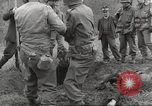 Image of victims of Flossenbürg Concentration Camp Flossenburg Germany, 1945, second 15 stock footage video 65675063168