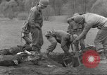 Image of victims of Flossenbürg Concentration Camp Flossenburg Germany, 1945, second 50 stock footage video 65675063168