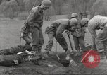 Image of victims of Flossenbürg Concentration Camp Flossenburg Germany, 1945, second 52 stock footage video 65675063168