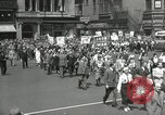 Image of May Day parade United States USA, 1935, second 36 stock footage video 65675063184