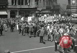 Image of May Day parade United States USA, 1935, second 37 stock footage video 65675063184