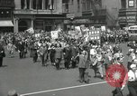 Image of May Day parade United States USA, 1935, second 38 stock footage video 65675063184