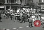 Image of May Day parade United States USA, 1935, second 39 stock footage video 65675063184