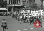 Image of May Day parade United States USA, 1935, second 19 stock footage video 65675063185