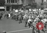 Image of May Day parade United States USA, 1935, second 25 stock footage video 65675063185