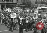 Image of May Day parade United States USA, 1935, second 40 stock footage video 65675063185