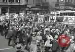 Image of May Day parade United States USA, 1935, second 46 stock footage video 65675063185