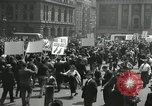Image of May Day parade United States USA, 1935, second 62 stock footage video 65675063185