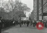 Image of May Day parade New York City USA, 1935, second 2 stock footage video 65675063187