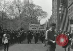 Image of May Day parade New York City USA, 1935, second 15 stock footage video 65675063187