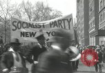 Image of May Day parade New York City USA, 1935, second 16 stock footage video 65675063187