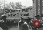 Image of May Day parade New York City USA, 1935, second 17 stock footage video 65675063187