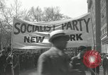Image of May Day parade New York City USA, 1935, second 18 stock footage video 65675063187