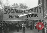 Image of May Day parade New York City USA, 1935, second 19 stock footage video 65675063187
