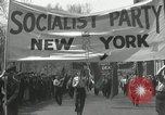 Image of May Day parade New York City USA, 1935, second 20 stock footage video 65675063187