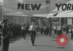 Image of May Day parade New York City USA, 1935, second 21 stock footage video 65675063187