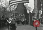 Image of May Day parade New York City USA, 1935, second 25 stock footage video 65675063187