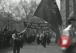 Image of May Day parade New York City USA, 1935, second 27 stock footage video 65675063187