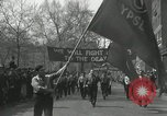 Image of May Day parade New York City USA, 1935, second 28 stock footage video 65675063187